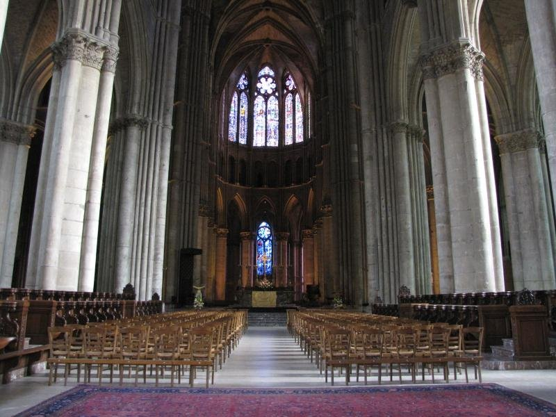 Nice 3 Notre Dame De Reims Is The Catholic Cathedral Of Reims, Where The Kings  Of France Were Once Crowned.